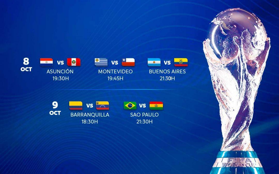 Arrancan las eliminatorias Conmebol para el Mundial de Fútbol Catar 2022