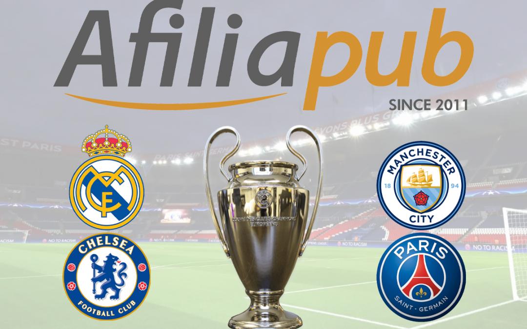 Semifinales de la Champions League: tres partidos hasta la gloria