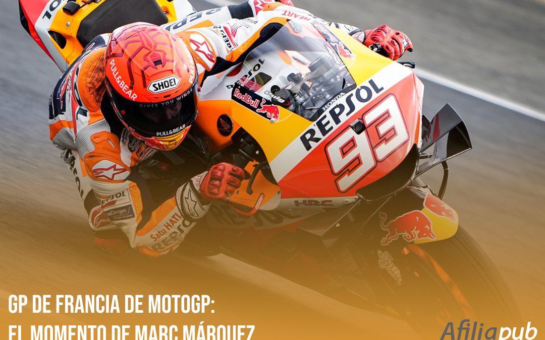 GP de Francia de MotoGP: el momento de Marc Márquez