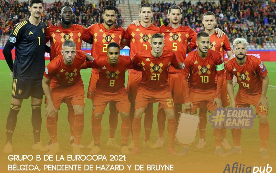 GRUPO B: Bélgica, Dinamarca, Finlandia y Rusia.