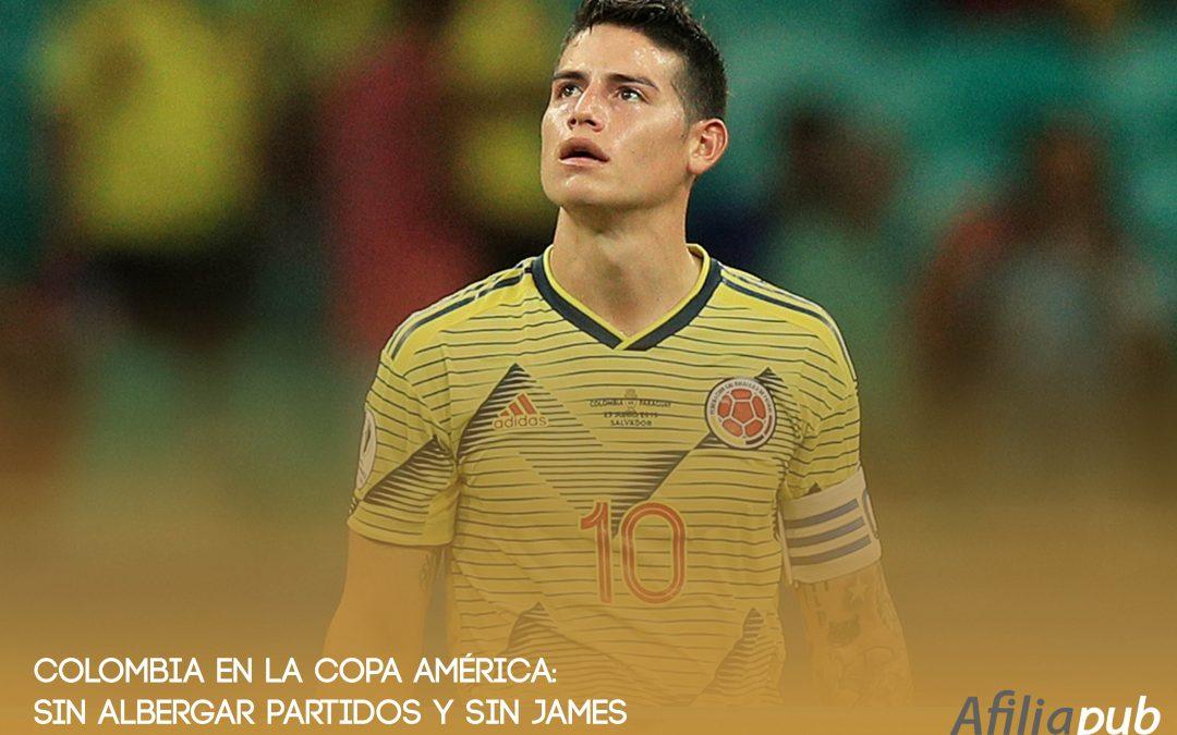 COLOMBIA: Sin albergar partidos y sin James Rodríguez