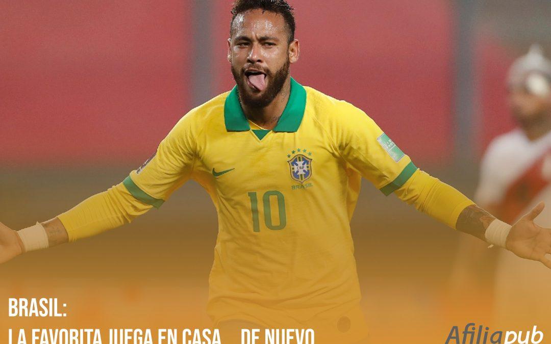 Brasil: la favorita juega en casa… de nuevo