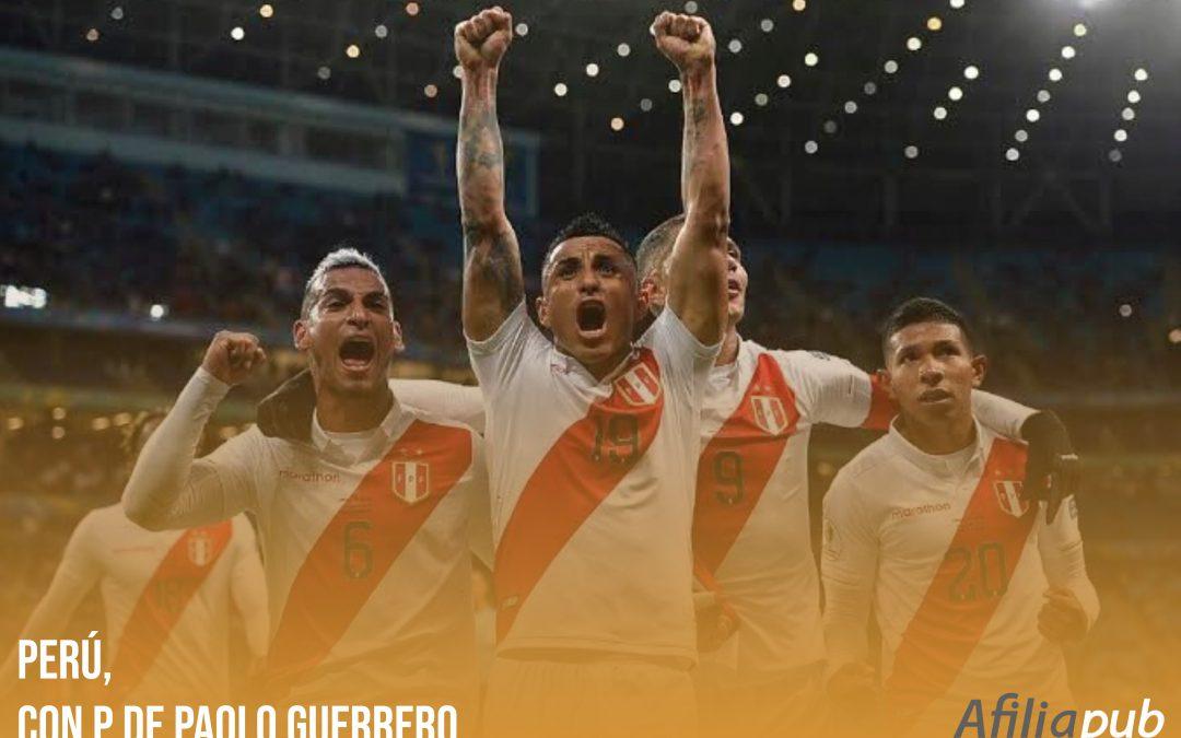 Perú, con P de Paolo Guerrero