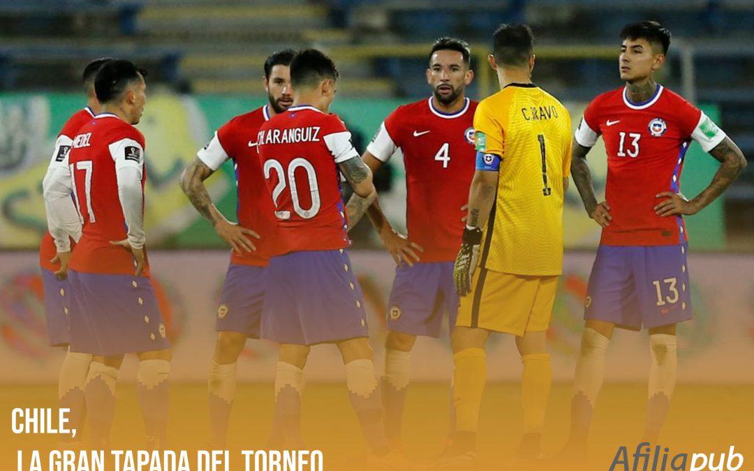 Chile, la gran tapada del torneo